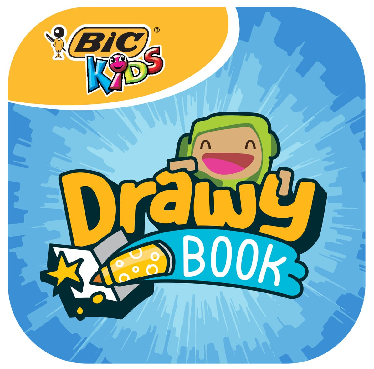 Photo de Bic Kids présente l'application Drawy Book