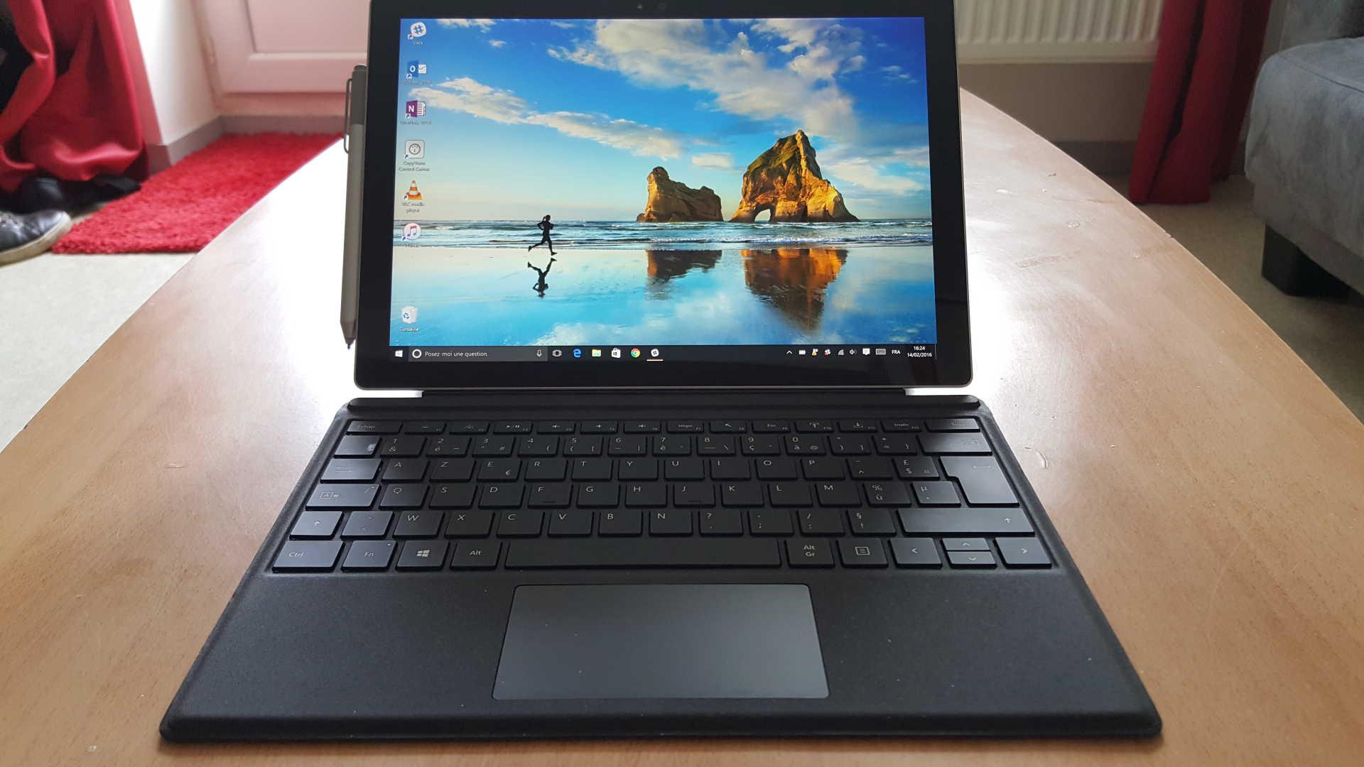 test surface pro 4 l 39 ordinateur tablette ultime lcdg. Black Bedroom Furniture Sets. Home Design Ideas