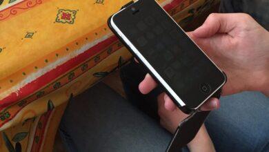 Photo of [TEST]Protection d'écran Verre Trempé iPhone 5S/5C/5 PanzerGlass Privacy