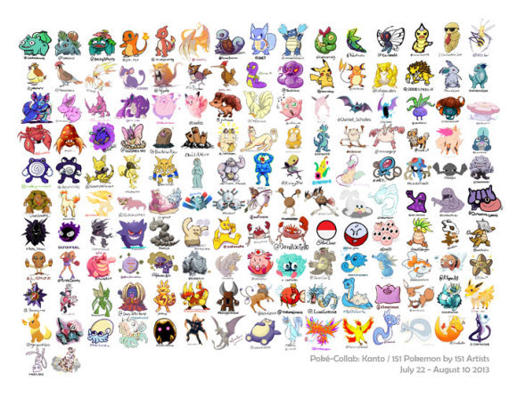151 premiers Pokémon