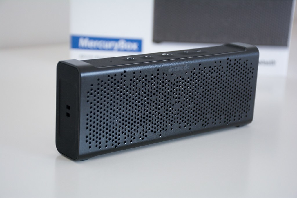 Photo de [TEST] Enceinte Bluetooth Inateck MercuryBox, design classieux, le son moins