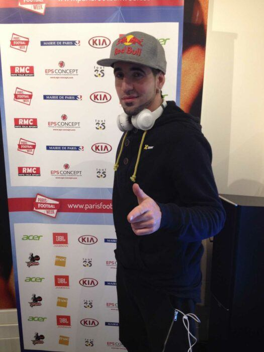 Guillaume Ghrenassia jbl paris football week www.ghrenassia.com (1)