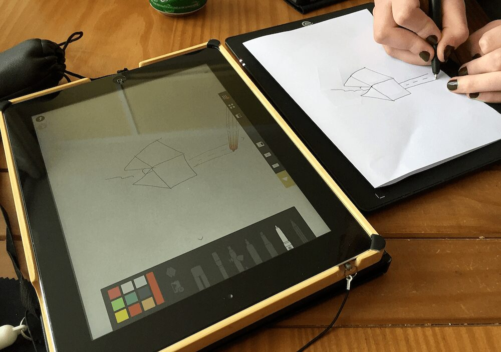 Photo de [TEST] Slate – La tablette de dessin sur iPad