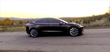 Tesla Model 3 (photo du site)
