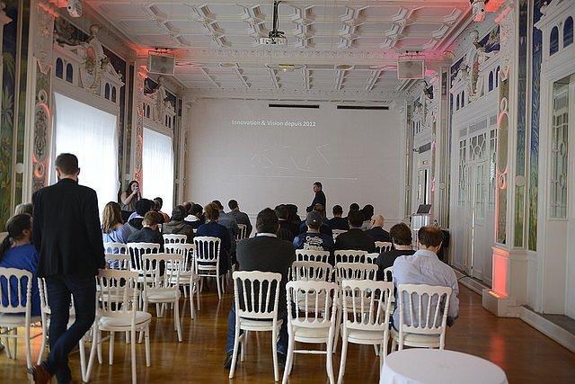 Photo de En conférence avec Sandisk et son iXpand