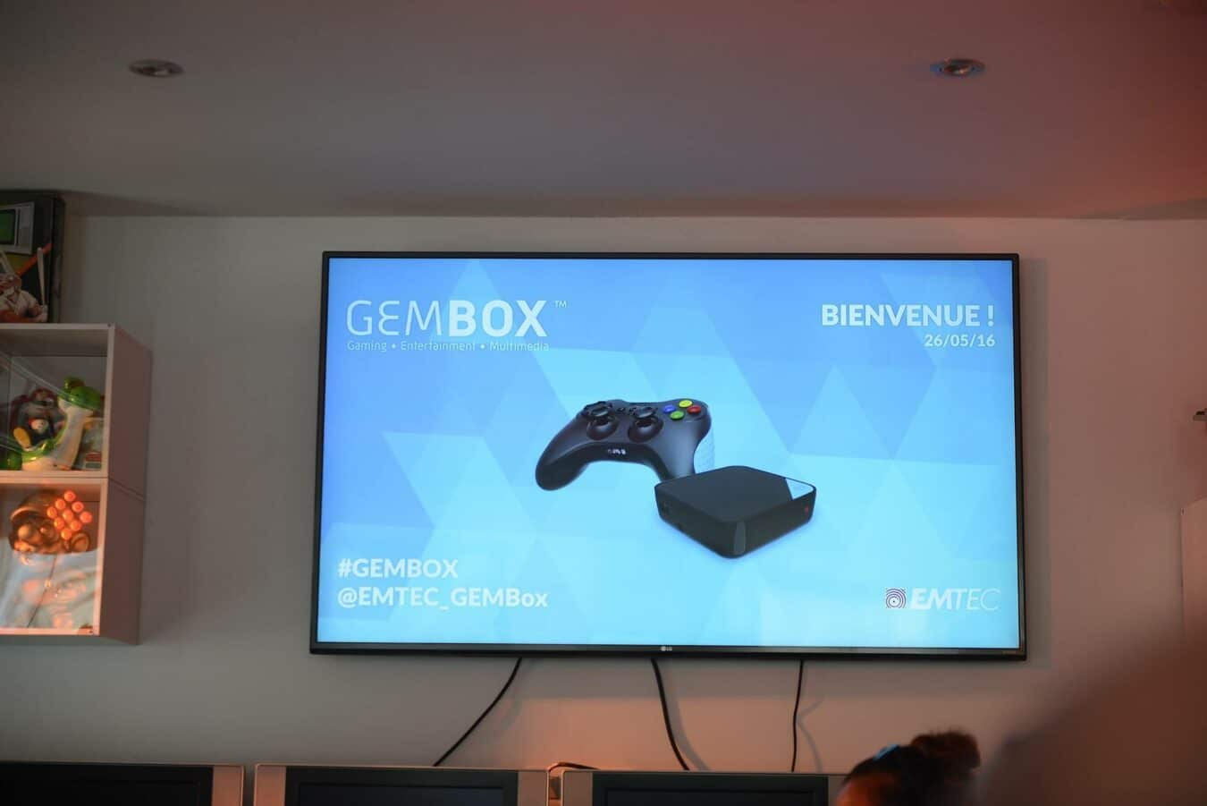 Photo of La Gem Box : La Micro console EMTEC