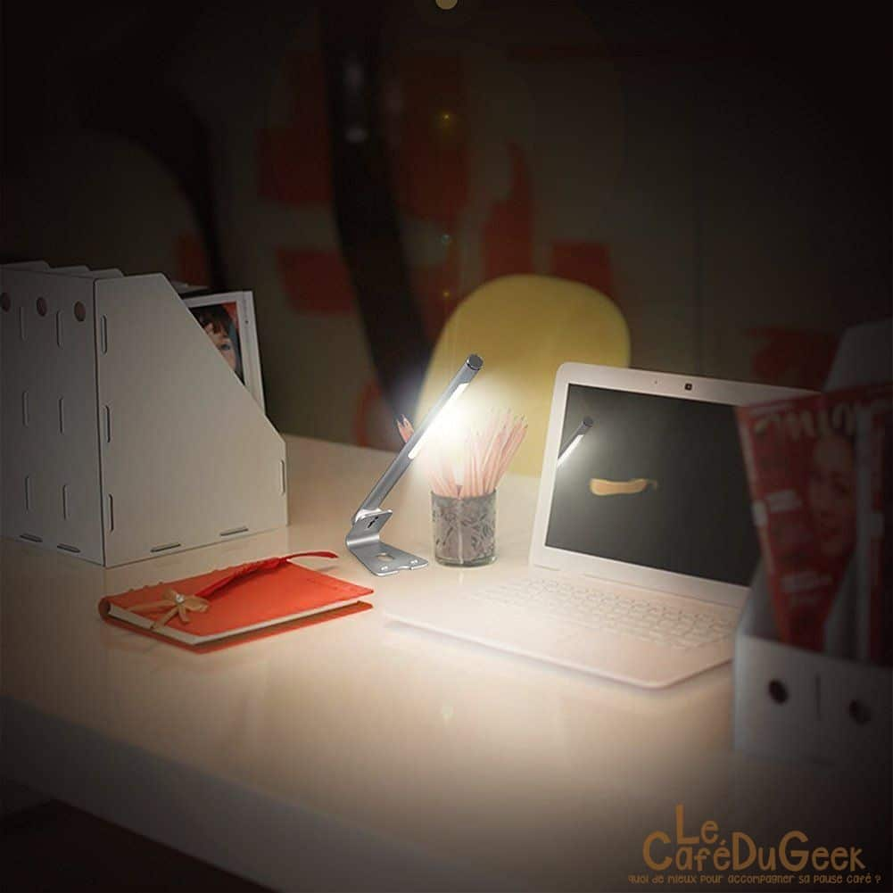 Photo of [TEST] Lampe Led 5W de bureau Dodocool, Fiat Lux !