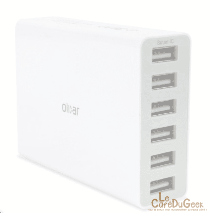 Photo de [TEST] Mobilefun – Hub « Olixar » (6 Ports USB)