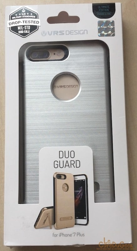 Coque iPhone 7 plus - DUO GUARD de chez VRS DESIGN