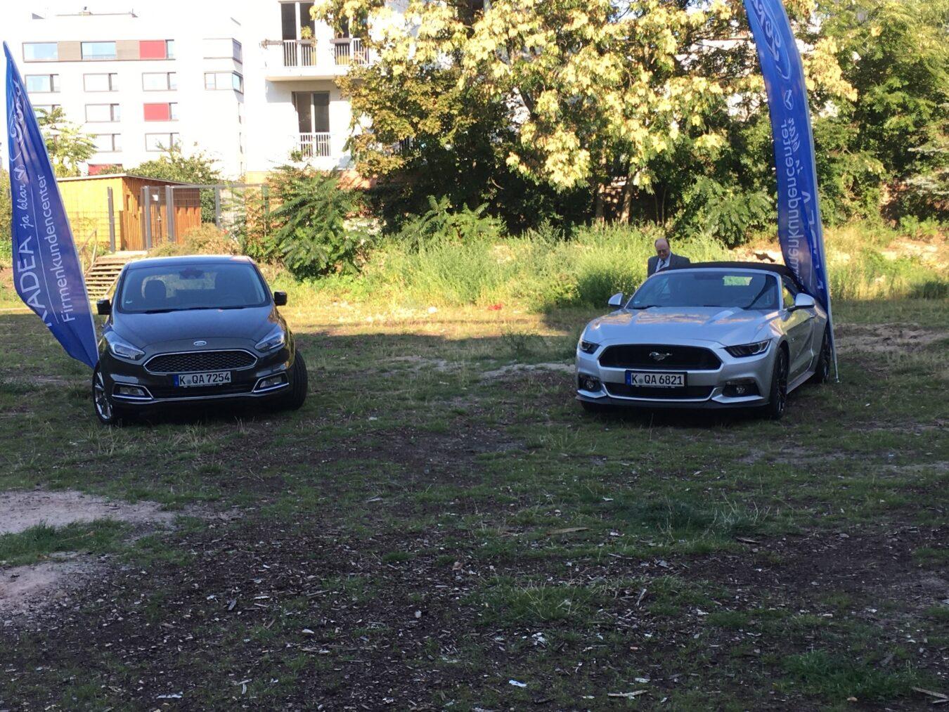 Photo de Ford et son AppLink Challenge à Berlin
