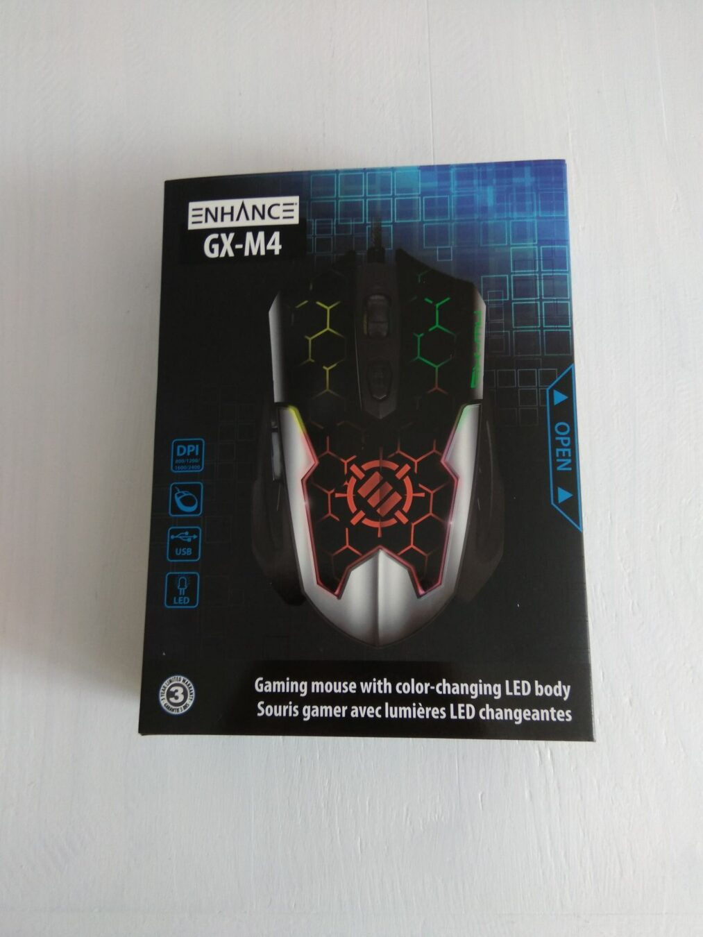 Photo de Accessory Power – La souris gaming ENHANCE GX-M4