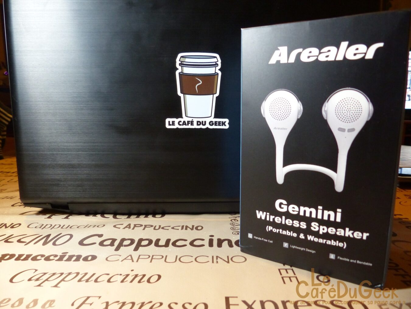 Photo de [TEST] Gemini de Arealer, l'enceinte Wearable flexible !