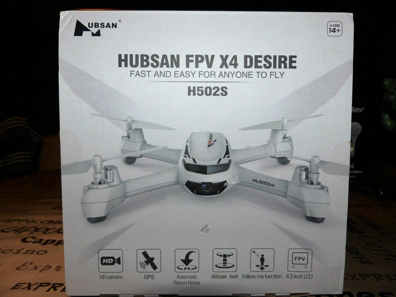Photo de Test du drone Hubsan H502S Part.1, Déballage et montage !