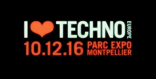 Photo de Venez GAGNER vos places pour I ♥ Techno 2016 !