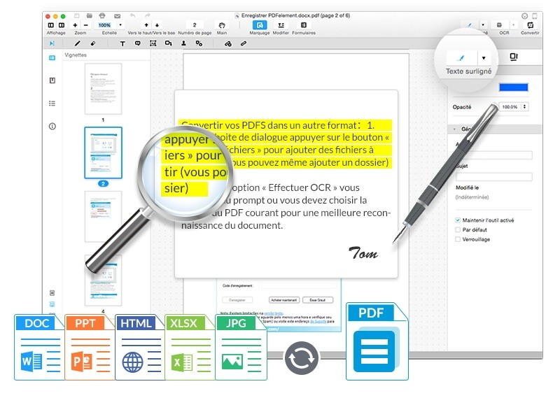 Photo de Comment modifier un PDF sur Mac (macOS Sierra inclus)