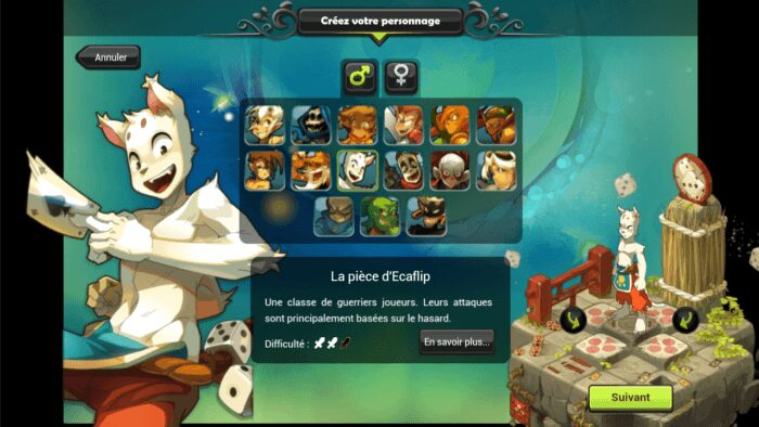 Creer Perso Dofus Touch