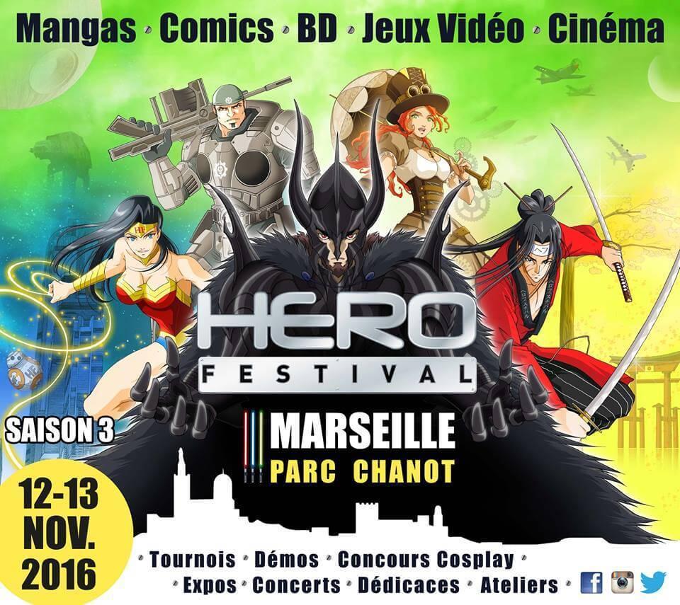 Photo of Hero Festival 2016 : une Saison 3 qui marquera les esprits