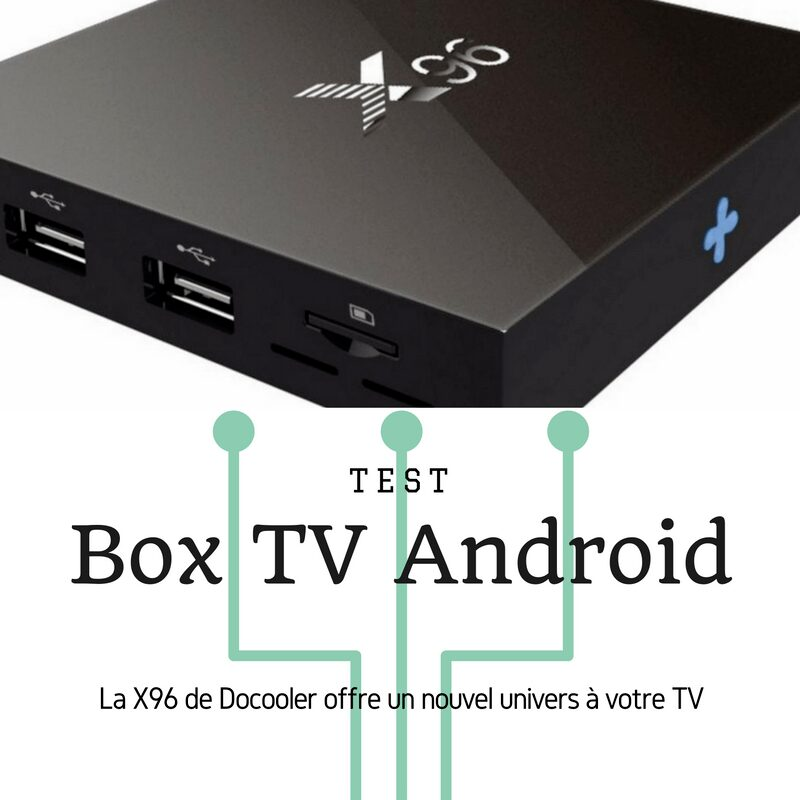 Photo de [TEST] Box TV Android X96, un nouvel univers sur ma TV !