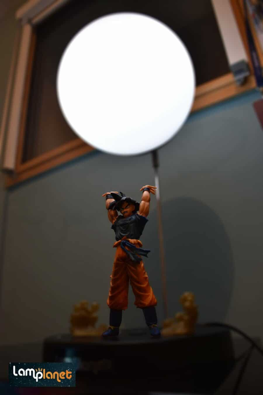Photo de |TEST] La Fameuse Lampe Goku de Lamplanet