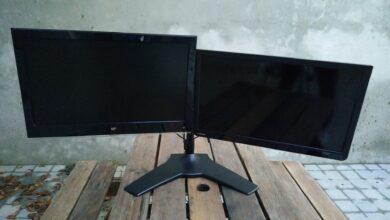 Photo of [TEST] Silverstone ARM23BS-L   Le support double écran solide