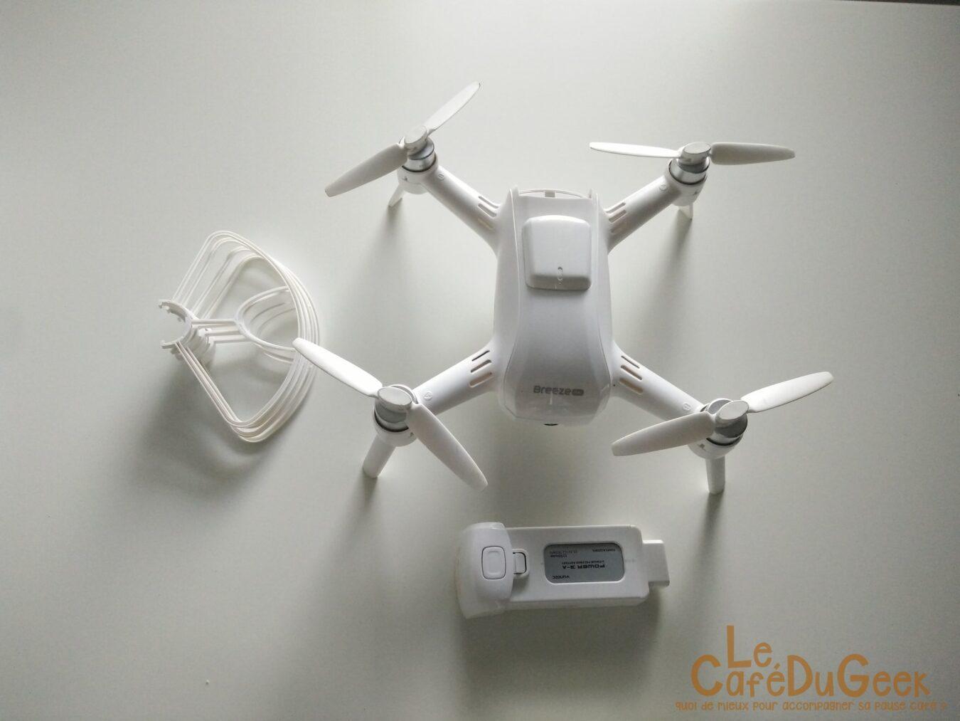 Photo de [TEST] Yuneec Breeze 4K – Le Selfie Drone 4k