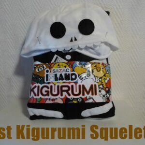 Packaging du Kigurumi squelette