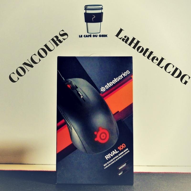 Photo de [CONCOURS] Une souris dans #LaHotteLCDG ? La Rival 100 !