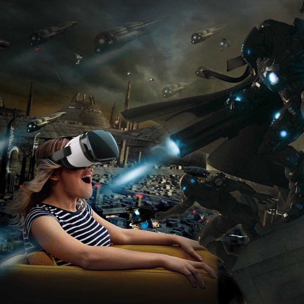 Photo de [TEST] Réalité virtuelle pour tous avec le Casque VR HooToo.