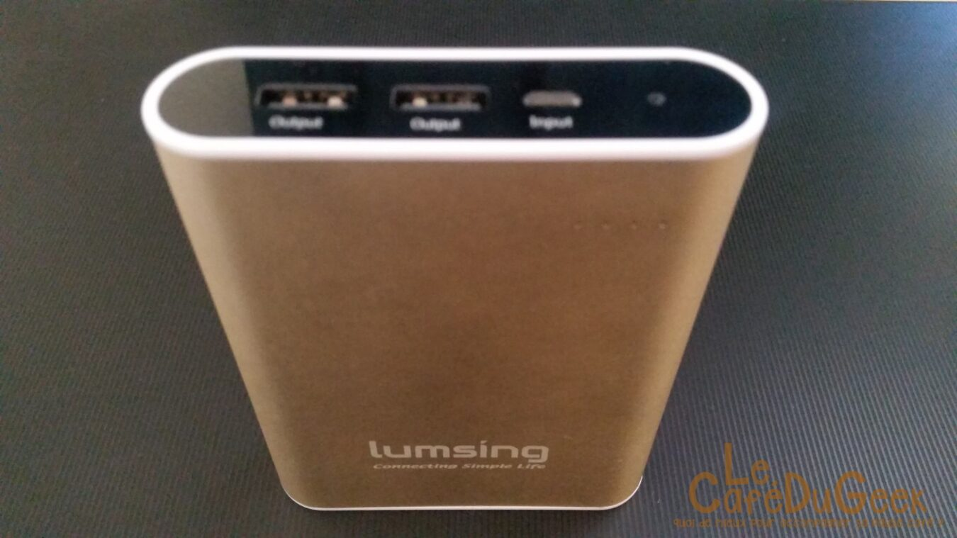 Photo of [Test] Batterie externe Lumsing Grand A1 Plus
