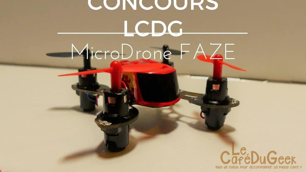 Photo de [CONCOURS] Micro Drone Ultra Small FAZE avec Miniplanes !
