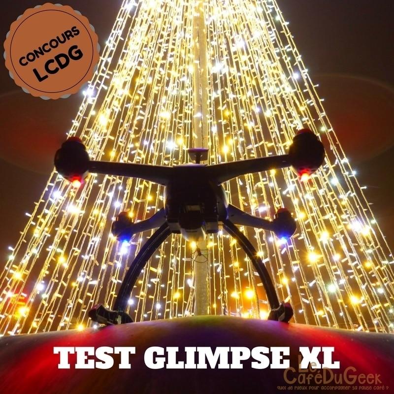 Photo de [TEST/CONCOURS] GLIMPSE XL, le drone connecté pour de belles prises de vues!