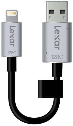 Photo de [TEST] Clé Lexar JumpDriveC20i, une clé USB pour iOS bien pratique