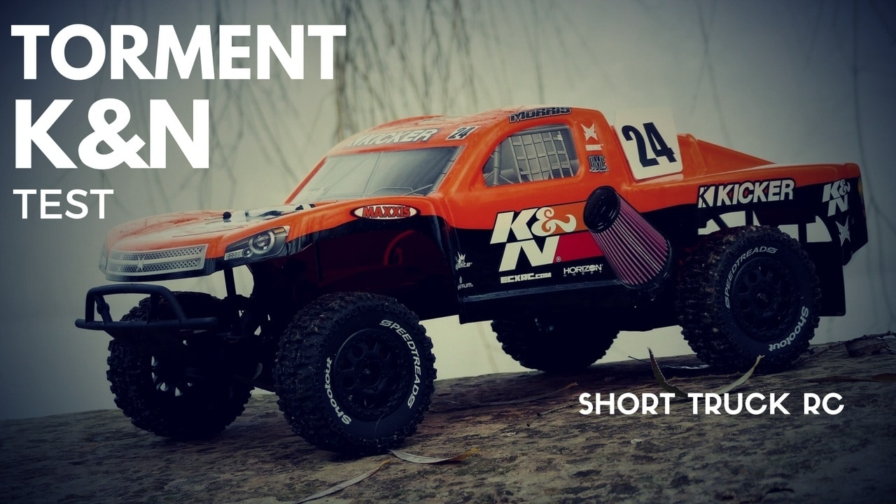 Photo de [TEST] TORMENT K&N, Gros Short Course Truck RC offroads !