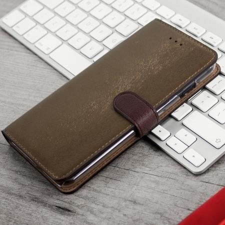 Photo of [Test] Housse Hansmare en cuir brun dorée pour iPhone 7 Plus, une belle protection