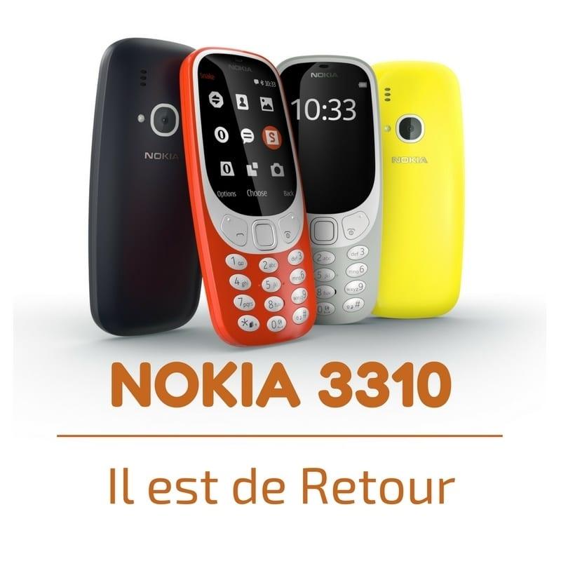 Photo de [BUZZ ET CLAIR] Le Nokia 3310 revient, mais pas tout seul !