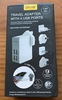 Photo of [Test] Chargeur Secteur + Adaptateurs voyage Olixar 4 ports USB l'idéal pour voyager