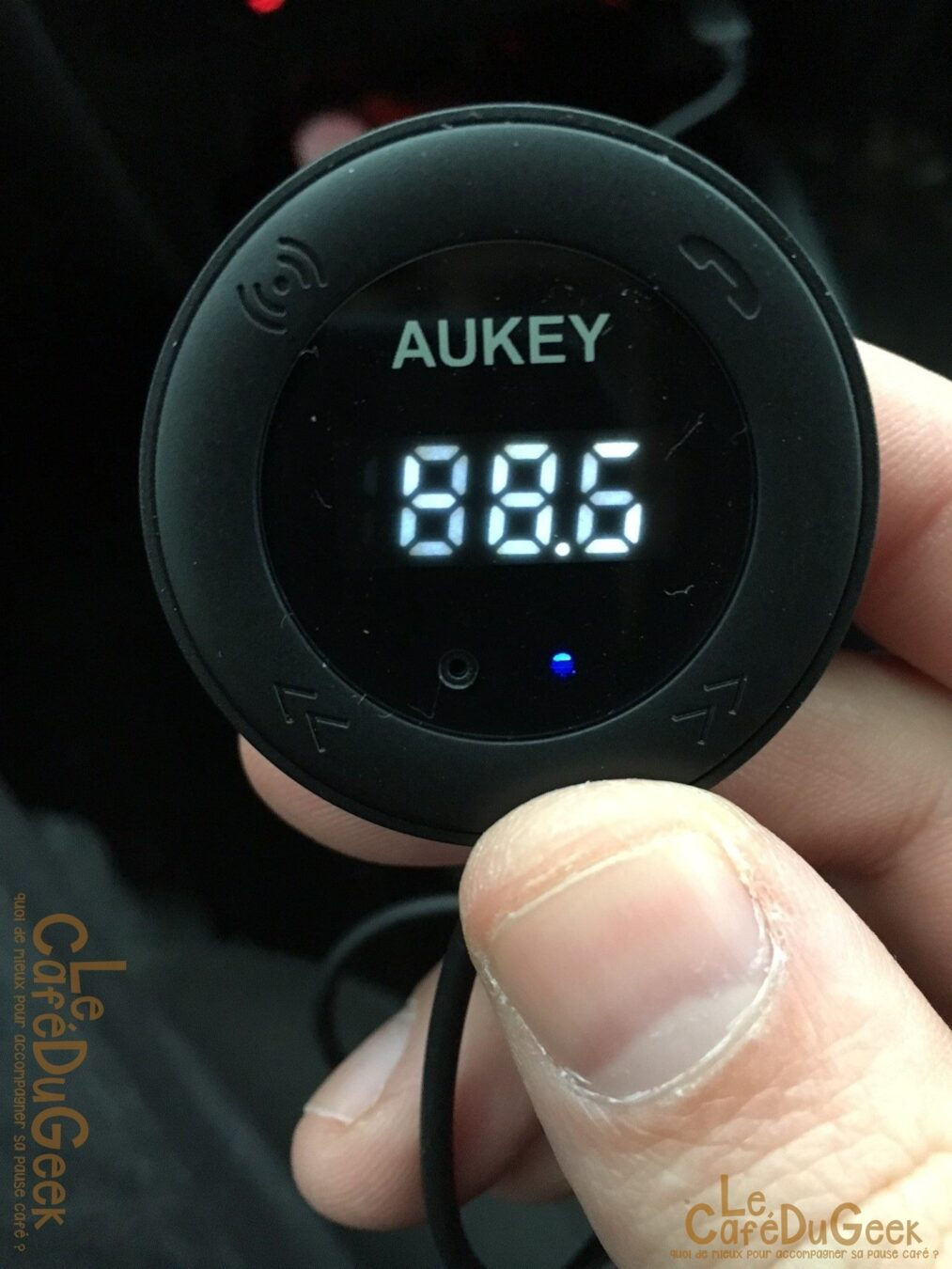 Photo de [TEST] Transmetteur FM Bluetooth Aukey, On the road again