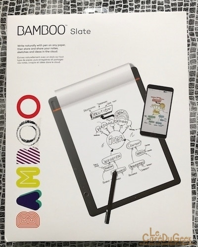 Photo de [Test] Bamboo Slate de Wacom – Le carnet de note papier et tablette !