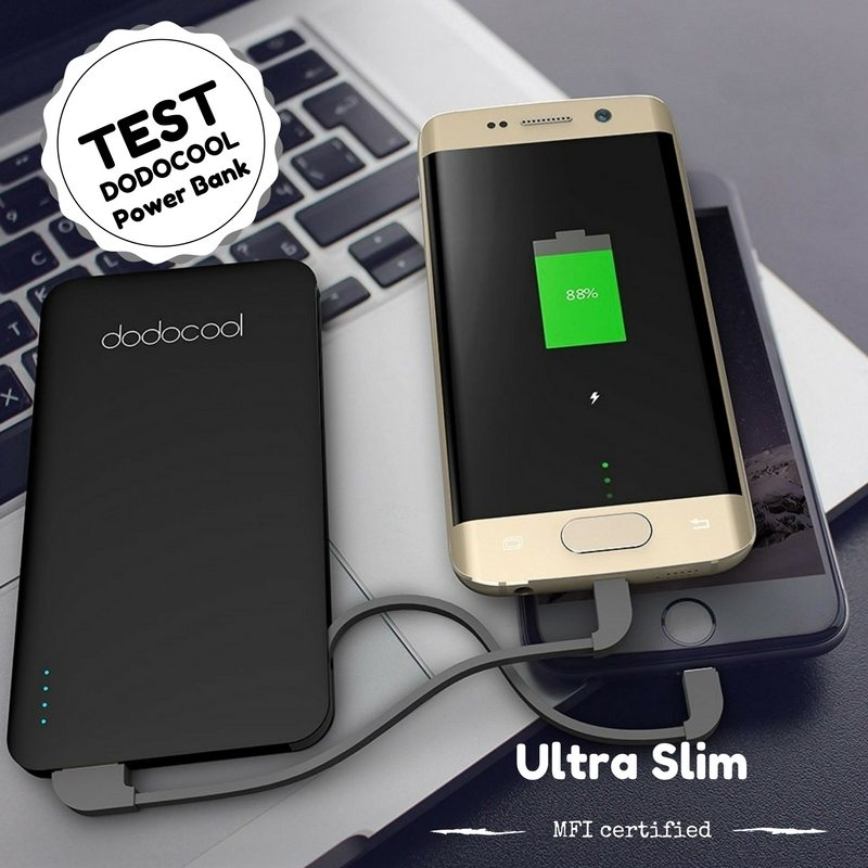 Photo of [TEST] Power Bank Slim Dodocool, 5000 mAh dans la poche