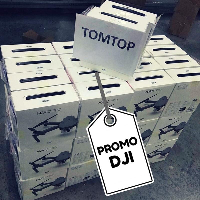 Photo de Le DJI MAVIC PRO avec 200$ de réduction, les promos s'envolent chez DJI