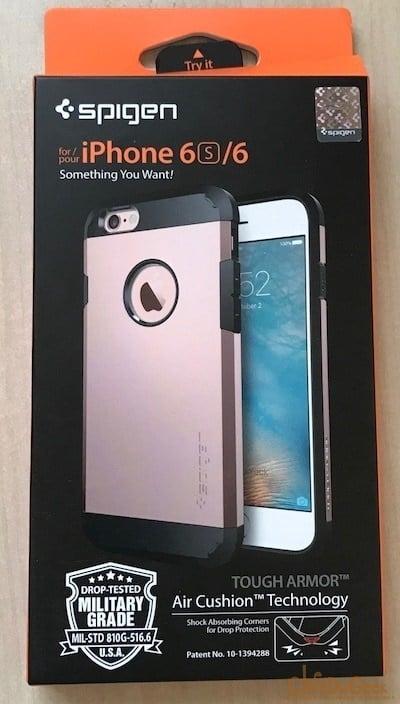 Photo of [Test] la coque Spigen Tough Armor rose pour iPhone6/s une superbe coque pour les filles