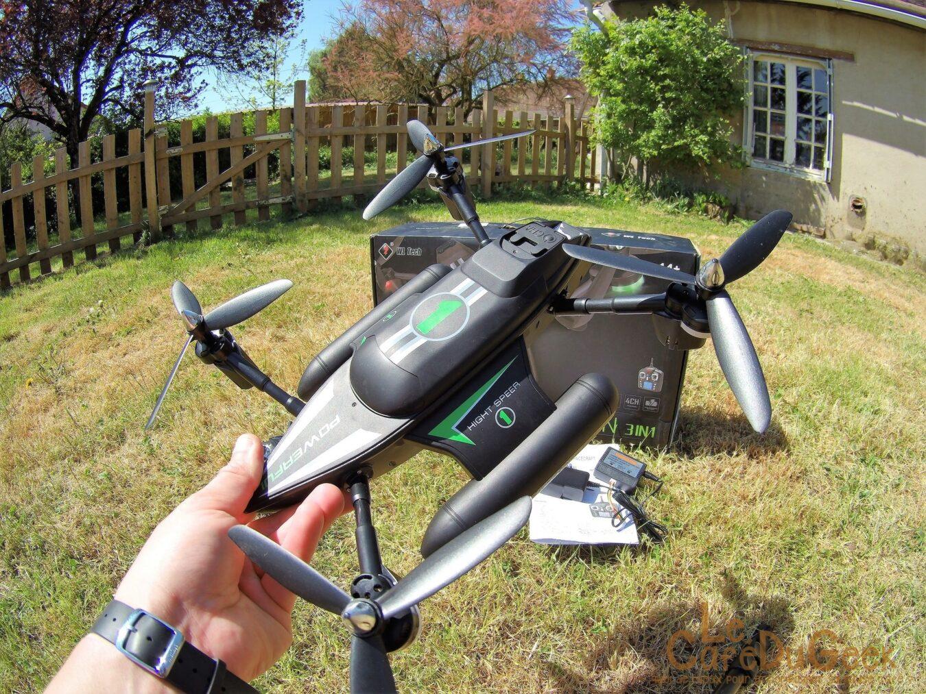 Promotion drone pas cher quebec, avis drone helper