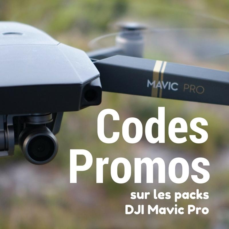 Photo de 200$ sur le DJI Mavic Pro et ses super packs combo