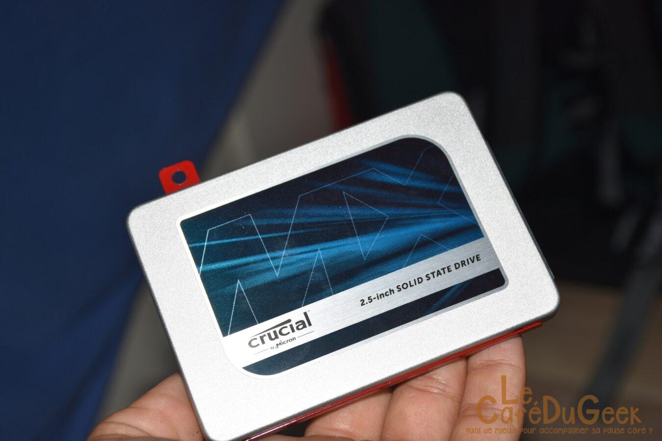 Photo of [TEST] SSD Crucial MX300, plus puissant qu'une voiture??