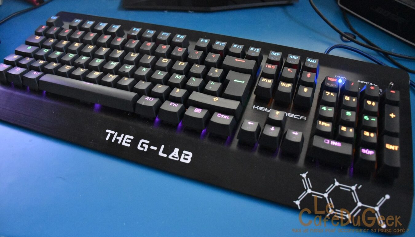 Photo de [TEST] The G Lab Keyz Meca, un clavier mécanique remarqué ??