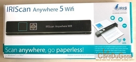Photo de [Test] IRIScan Anywhere 5 le scanner mobile