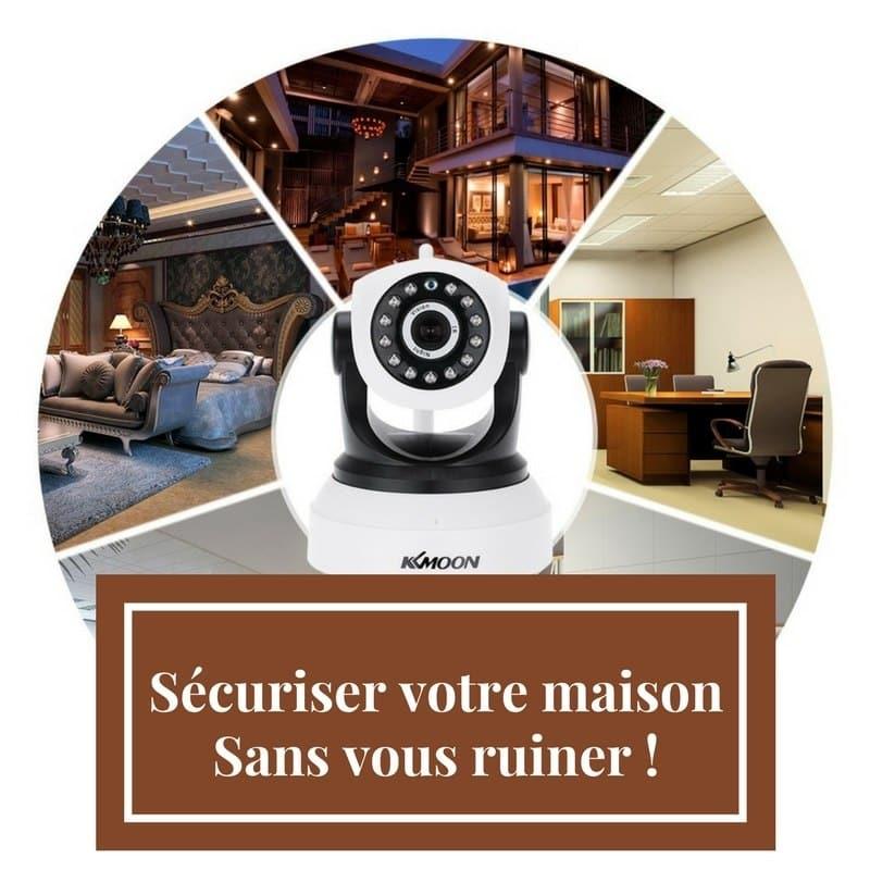 Photo of Sécurisez votre maison avec une caméra KKmoon Wi-Fi sans vous ruiner !