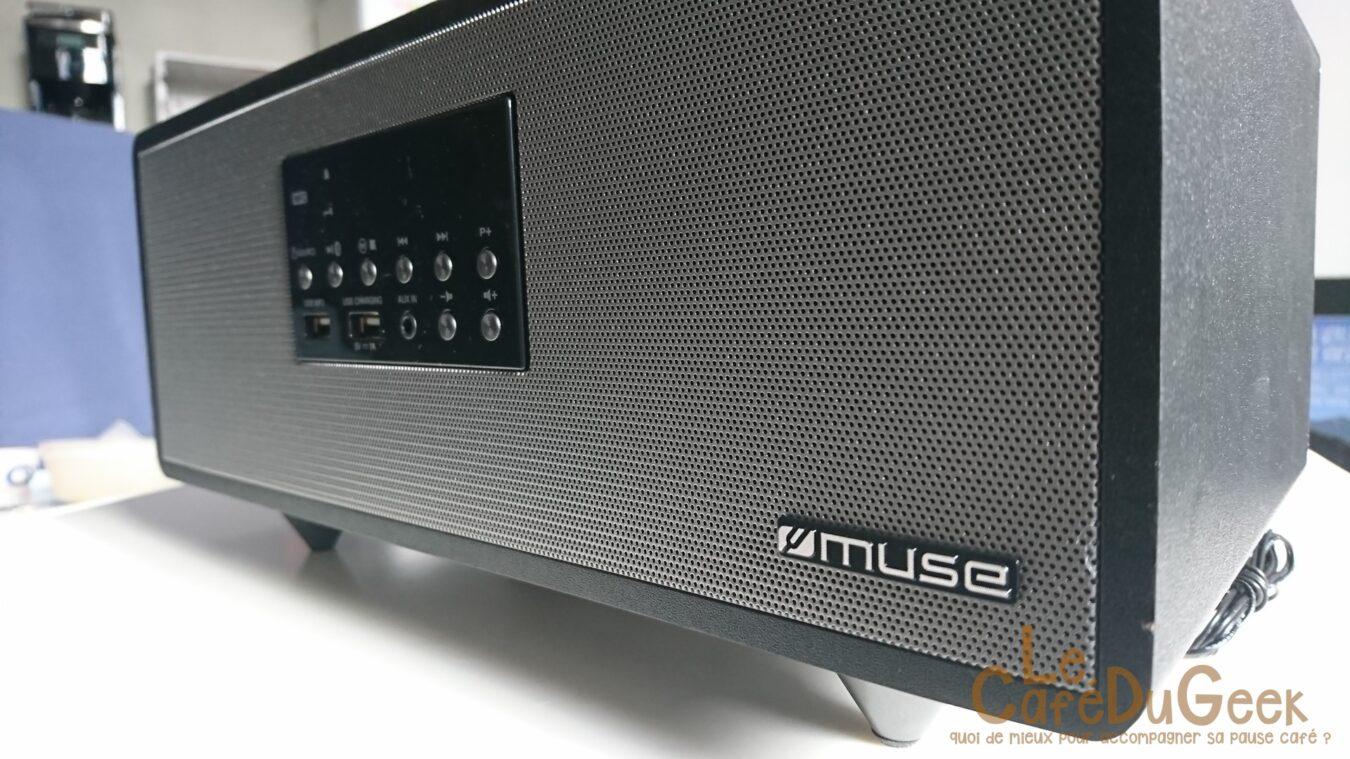 Photo de [TEST] Muse M-630 BT | L'enceinte Bluetooth abordable
