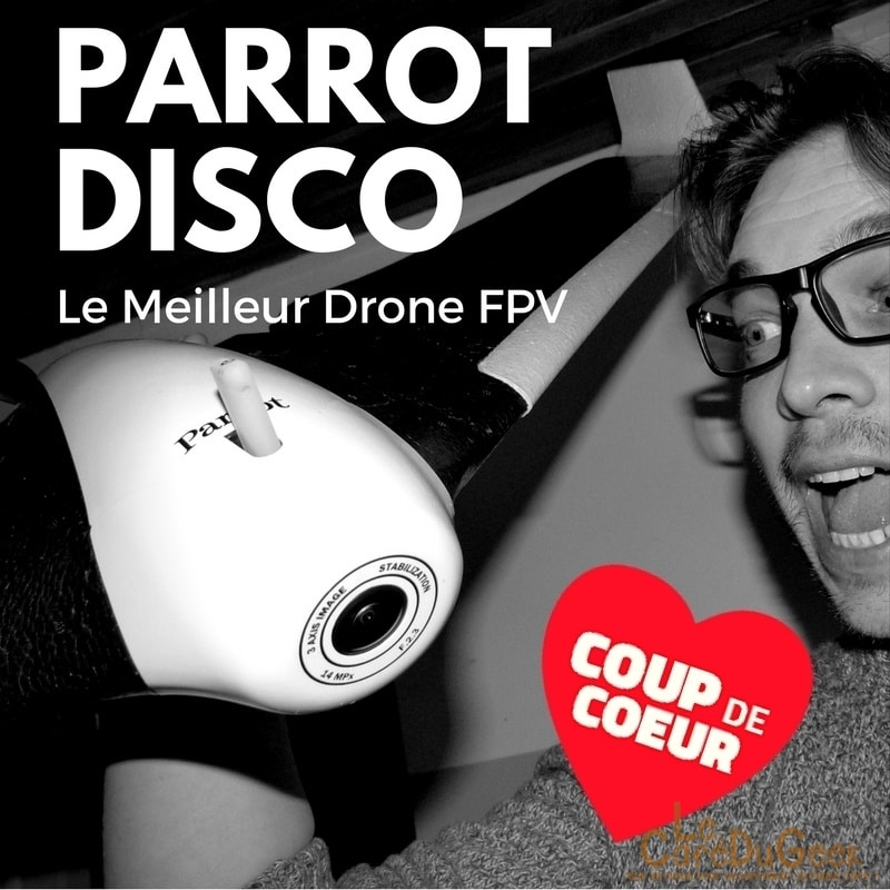 Photo de [TEST] Parrot Disco FPV, ma meilleur expérience de vol en immersion !