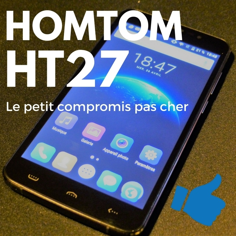 Photo de [TEST] HOMTOM HT27, un excellent smartphone 3G à moins de 70 €
